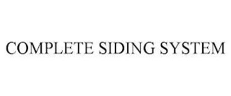 COMPLETE SIDING SYSTEM