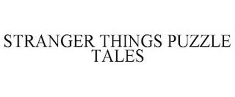 STRANGER THINGS PUZZLE TALES