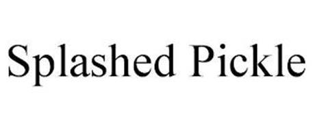 SPLASHED PICKLE