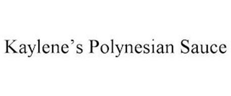 KAYLENE'S POLYNESIAN SAUCE