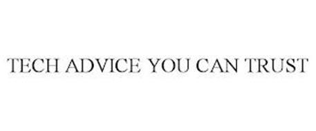 TECH ADVICE YOU CAN TRUST