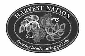 HARVEST NATION FARMING LOCALLY, CARING GLOBALLY