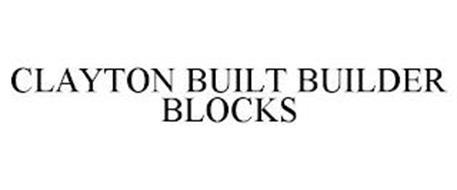 CLAYTON BUILT BUILDER BLOCKS