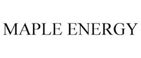 MAPLE ENERGY