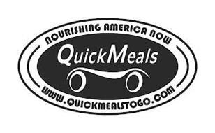 NOURISHING AMERICA NOW QUICKMEALS WWW.QUICKMEALSTOGO.COM