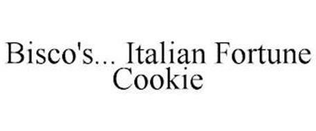 BISCO'S... ITALIAN FORTUNE COOKIE