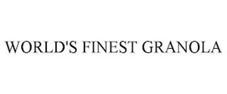 WORLD'S FINEST GRANOLA