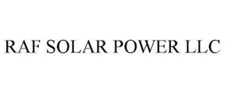 RAF SOLAR POWER LLC
