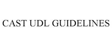 CAST UDL GUIDELINES
