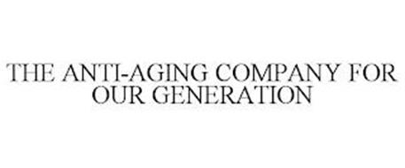 THE ANTI-AGING COMPANY FOR OUR GENERATION