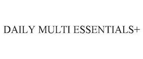 DAILY MULTI ESSENTIALS+