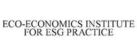 ECO-ECONOMICS INSTITUTE FOR ESG PRACTICE