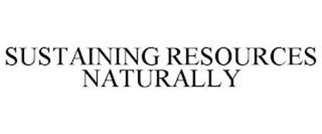 SUSTAINING RESOURCES NATURALLY