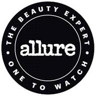 ALLURE THE BEAUTY EXPERT ONE TO WATCH