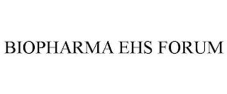 BIOPHARMA EHS FORUM