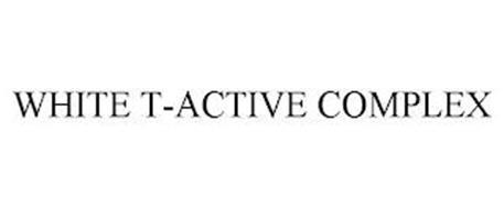 WHITE T-ACTIVE COMPLEX