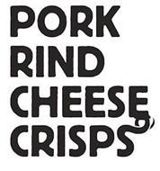 PORK RIND CHEESE CRISPS