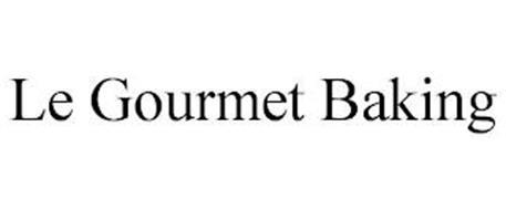 LE GOURMET BAKING