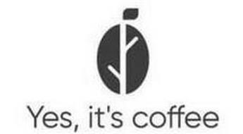 YES, IT'S COFFEE