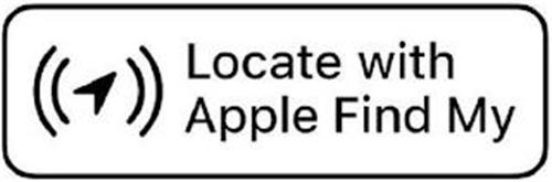LOCATE WITH APPLE FIND MY
