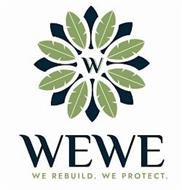 WEWE. WE REBUILD. WE PROTECT.