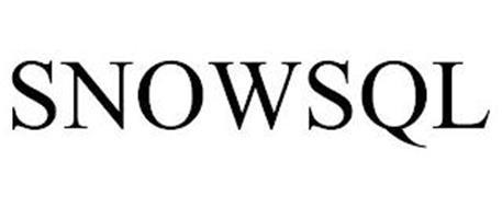 SNOWSQL