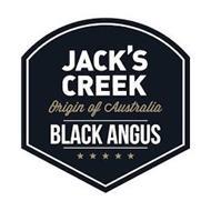 JACK'S CREEK, ORIGIN OF AUSTRALIA, BLACK ANGUS