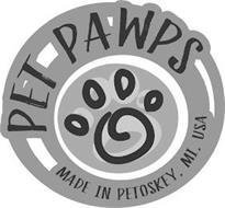 PET PAWPS MADE IN PETOSKY, MI, USA
