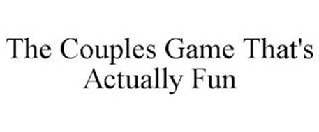 THE COUPLES GAME THAT'S ACTUALLY FUN