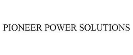 PIONEER POWER SOLUTIONS