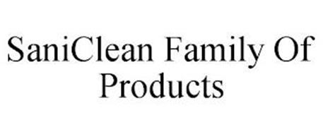 SANICLEAN FAMILY OF PRODUCTS