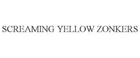 SCREAMING YELLOW ZONKERS