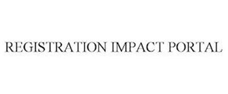REGISTRATION IMPACT PORTAL