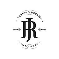 · TURNING DREAMS · JR · INTO KEYS ·