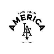 LIVE FROM AMERICA LFA EST 1992