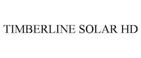 TIMBERLINE SOLAR HD