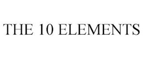 THE 10 ELEMENTS