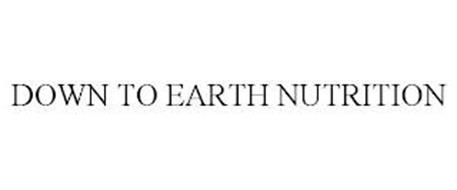 DOWN TO EARTH NUTRITION