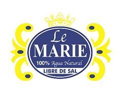 LE MARIE 100% AGUA NATURAL LIBRE DE SAL