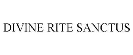 DIVINE RITE SANCTUS