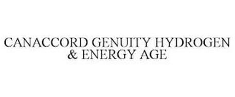 CANACCORD GENUITY HYDROGEN & ENERGY AGE