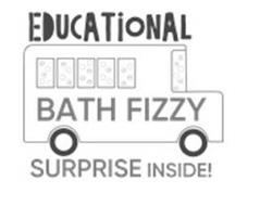 EDUCATIONAL BATH FIZZY SURPRISE INSIDE!