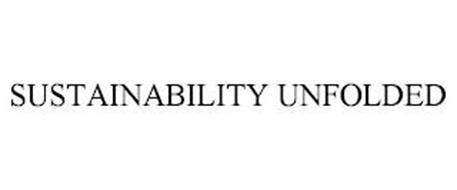 SUSTAINABILITY UNFOLDED