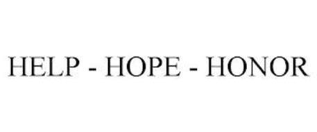HELP - HOPE - HONOR