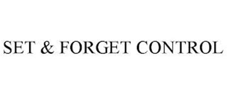SET & FORGET CONTROL