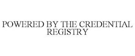 POWERED BY THE CREDENTIAL REGISTRY