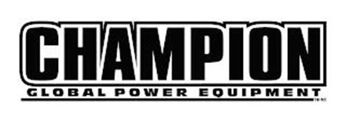 CHAMPION GLOBAL POWER EQUIPMENT