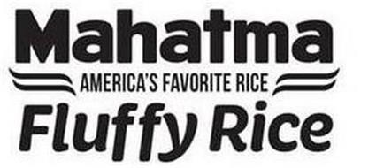MAHATMA AMERICA'S FAVORITE RICE FLUFFY RICE