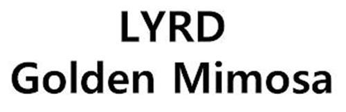 LYRD GOLDEN MIMOSA