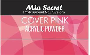 MIA SECRET PROFESSIONAL NAIL SYSTEM COVER PINK ACRYLIC POWDER